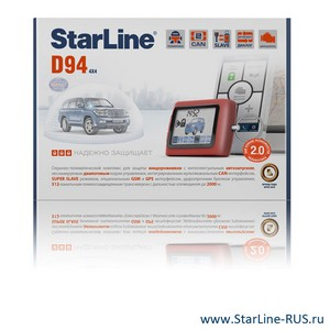 StarLine D94 2xCAN GSM