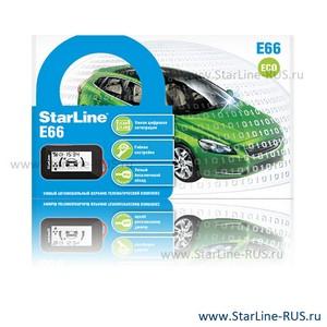 StarLine E66 2CAN 2LIN Eco