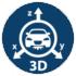 3D датчик удара, наклона и перемещения
