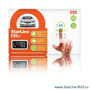StarLine E95 BT 2CAN+2LIN GSM