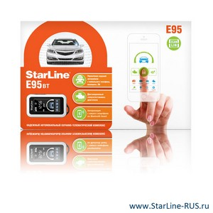 StarLine E95 BT 2CAN+2LIN