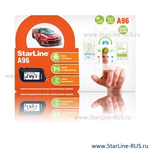 StarLine A96 2CAN 2LIN GSM GPS