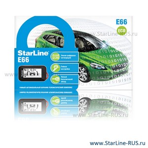StarLine E66 2CAN 2LIN Eco