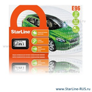 StarLine E96 BT 2CAN 2LIN GSM GPS